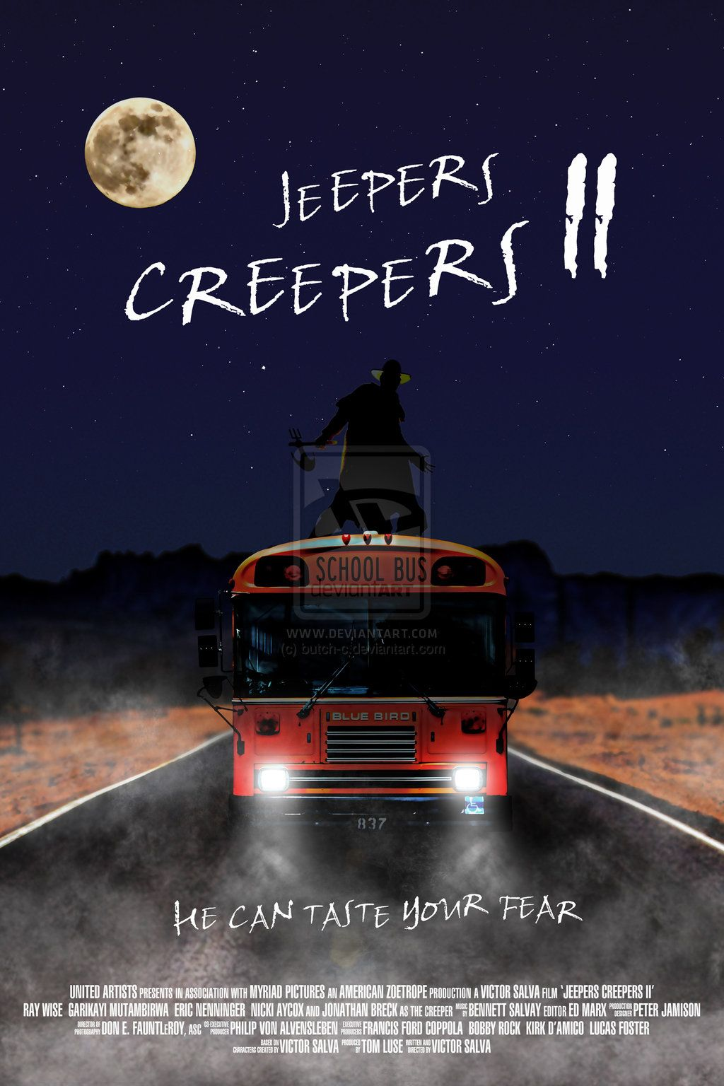 Jeepers Creepers In 2020 Jeepers Creepers Horror Posters Tv Horror