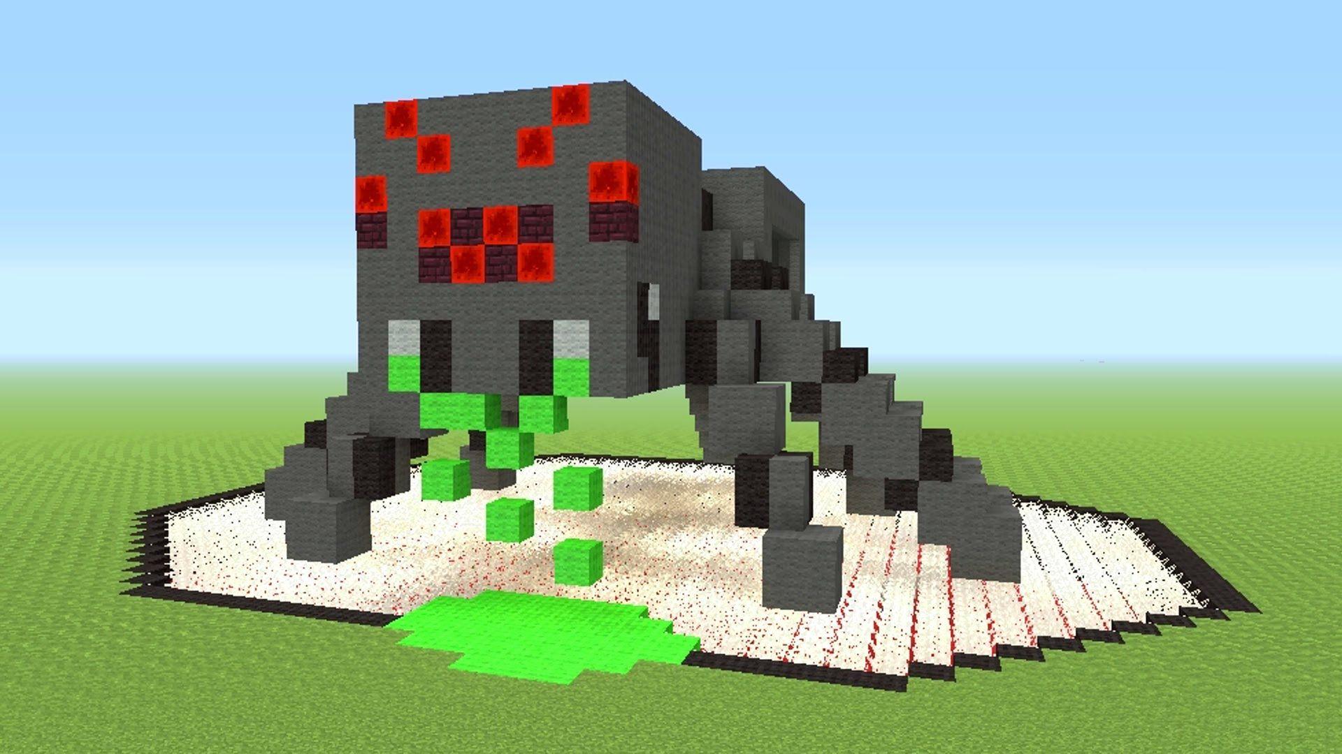 Spider Statue Minecraft Afficher l'...