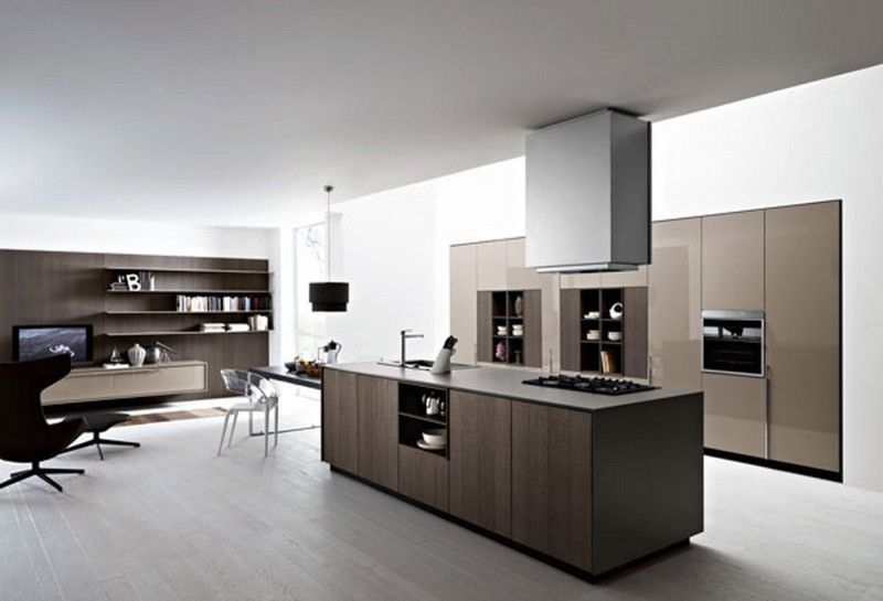 Hidden Kitchen Design Minimalist Kitchen Design With Hidden Storage Units 800X545