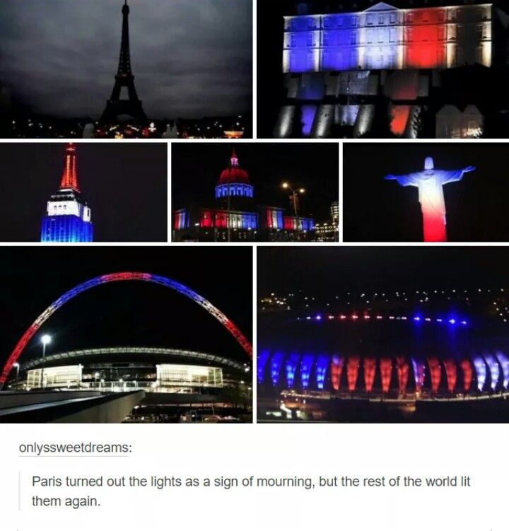 Pray for Paris. Pray for humanity. Terrorism must stop.