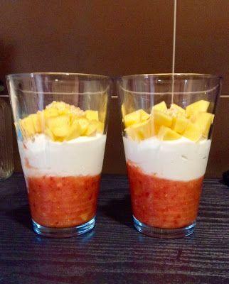 Treinos Culinários: Parfait Tricolor