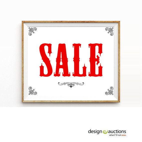 picture relating to For Sale Sign Printable named SALE indicator printable quick obtain workplace signage