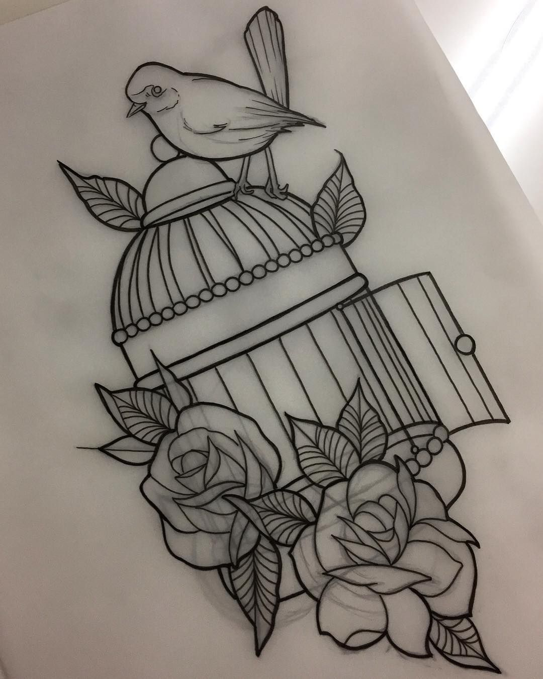 An amazing design from our apprentice dee tattoo
