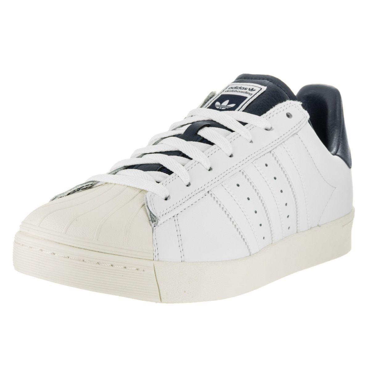 f32e4af853c4 Adidas Men s Superstar Vulc Adv Ftwwht