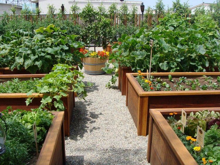 Garten Hochbeete selber bauen und den Garten in Ordnung bringen - gemusegarten am hang anlegen