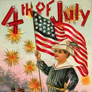 Image result for vintage 4th of july images