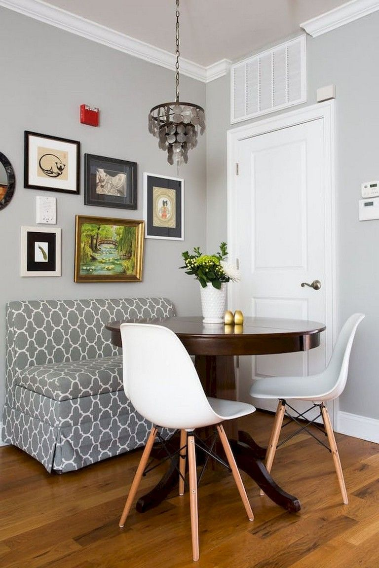 37+ Smart Small Space Breakfast Nook Apartment Ideas on A ...