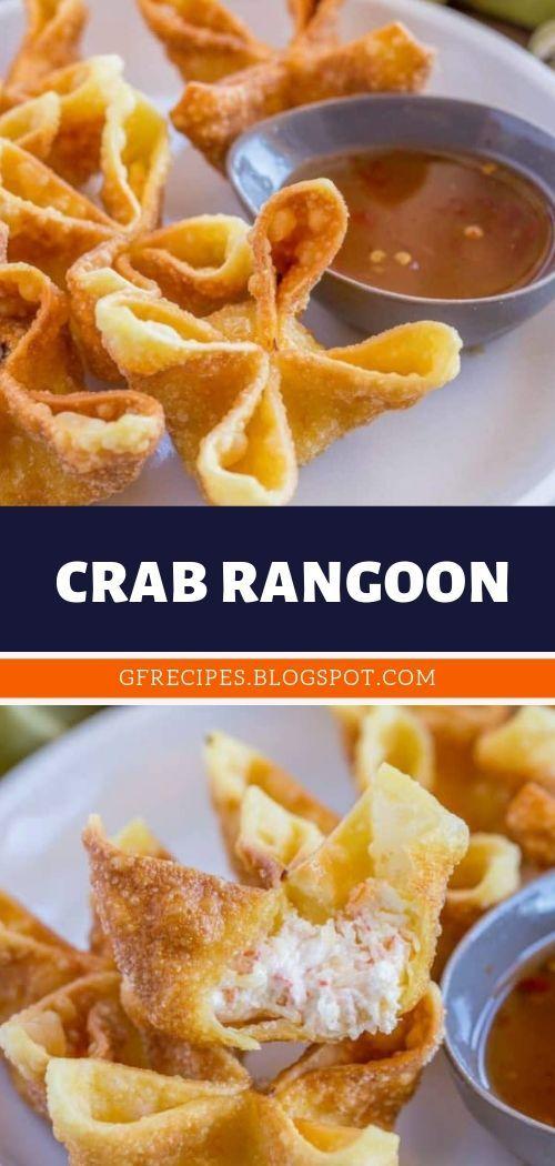 CRAB RANGOON #crabrangoondip