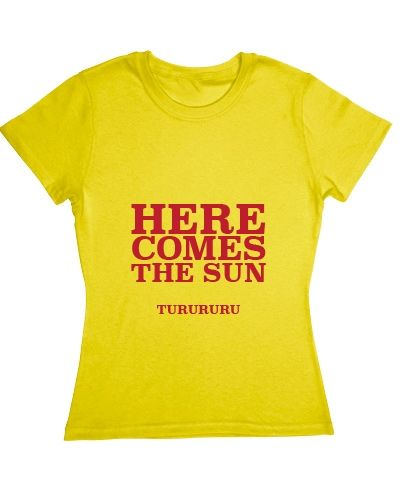 d5e45804d Blusa T-shirt The Beatles - Here Comes The Sun | Blusas musicales ...