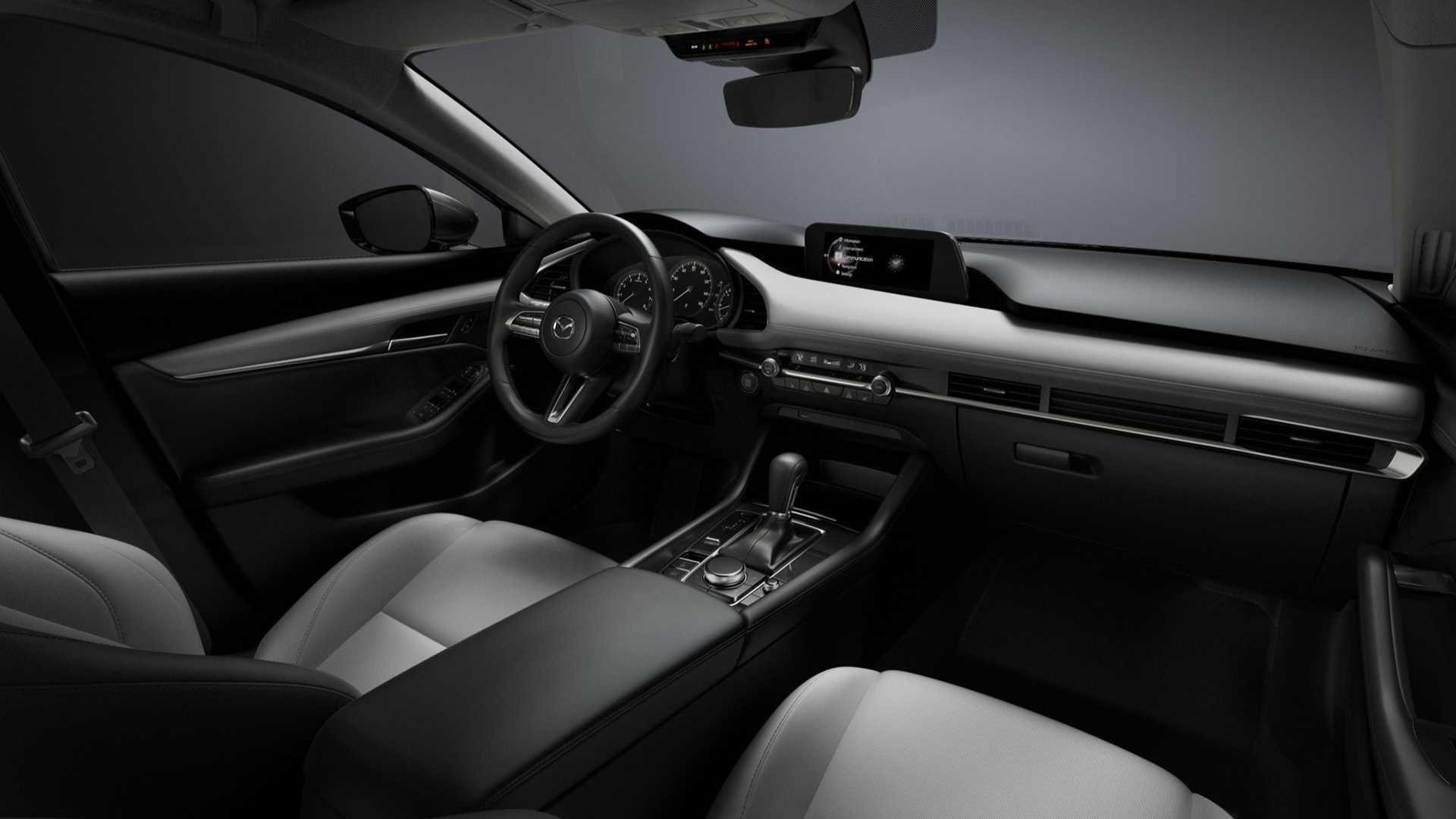 2018 Mazda 3 Sedan Interior White Mazda 3 Sedan Mazda 3 Hatchback Mazda 3