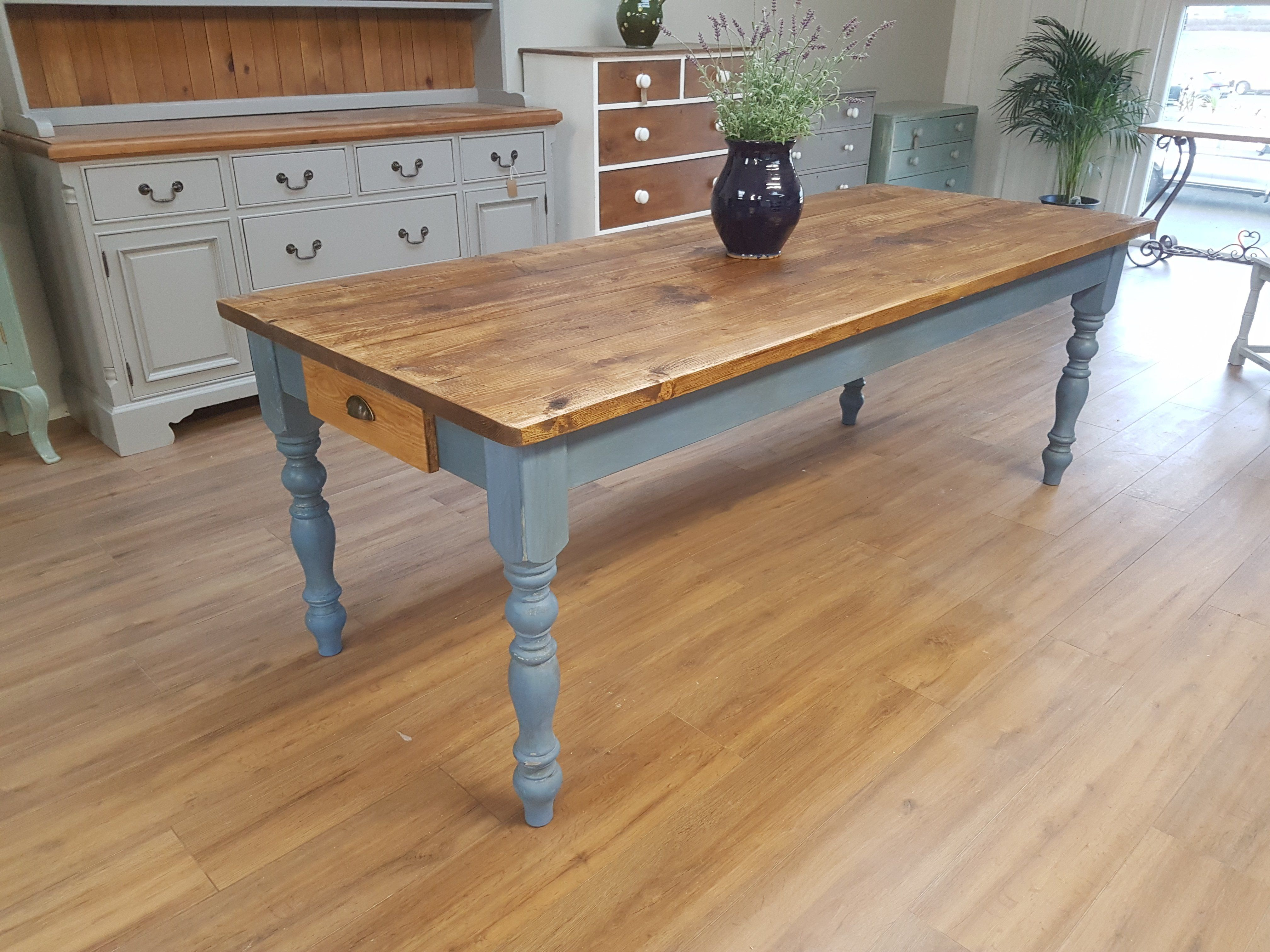 Lots Of Rustic Kitchen Tables Chairs With Beautiful Old Tops Waxed Or Oiled Country Life Furniture Quality Interiors