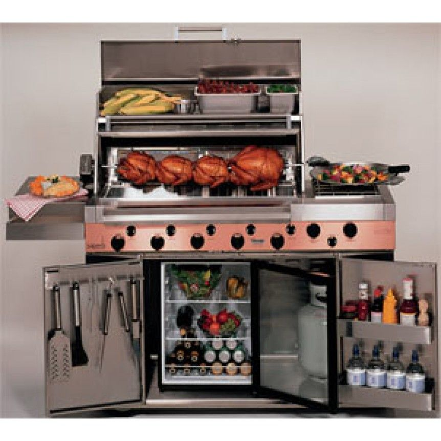 Broil Master Ultimate Stainless Steel Gas Grill Bbq Grills Smoker Charcoal Zoospin2win