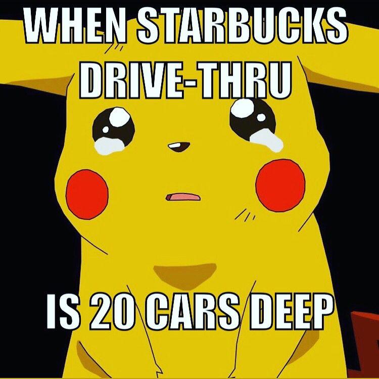 Yo Pika Pika Starbucks Memes Great Memes Memes