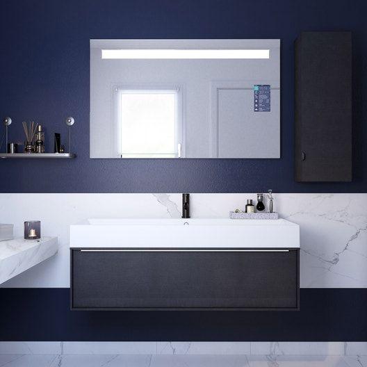 Plan De Toilette Compact Ep 10 X L 151 X H 48 5 Cm Neo Meuble Haut Meuble Haut Salle De Bain Idee Salle De Bain