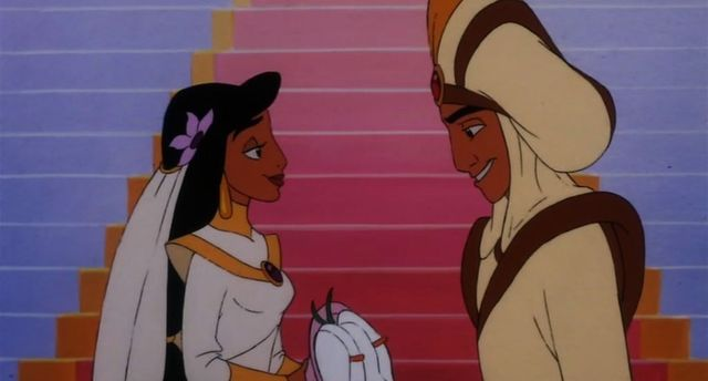 Aladdin And Jasmine S Wedding The King Of Thieves