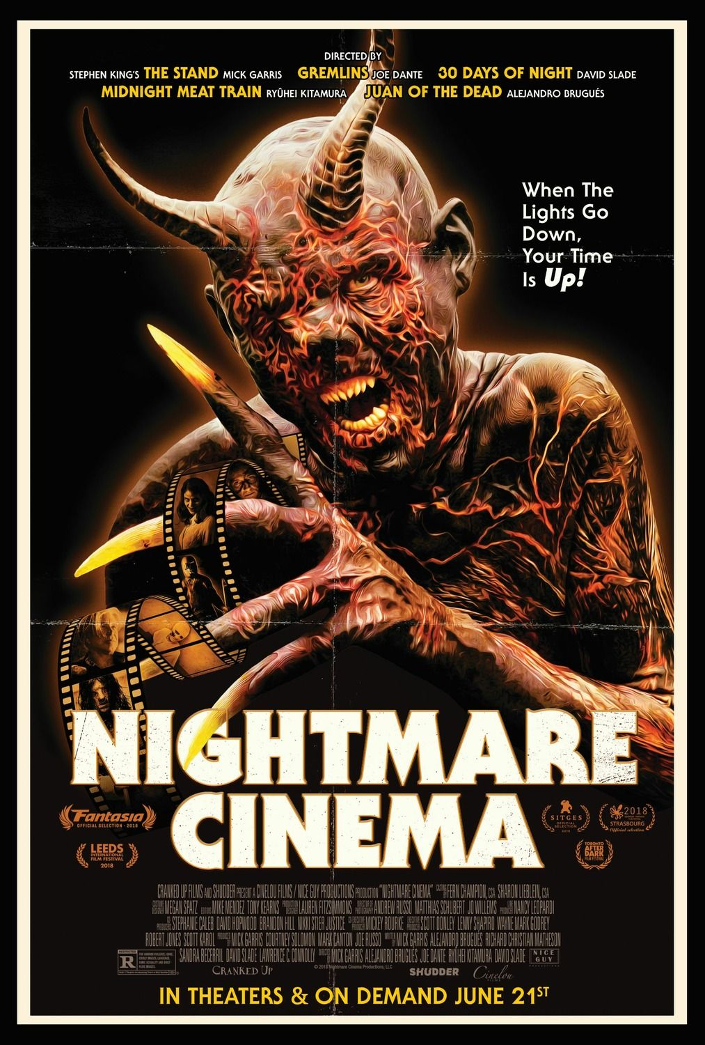 Return To The Main Poster Page For Nightmare Cinema Best Horror