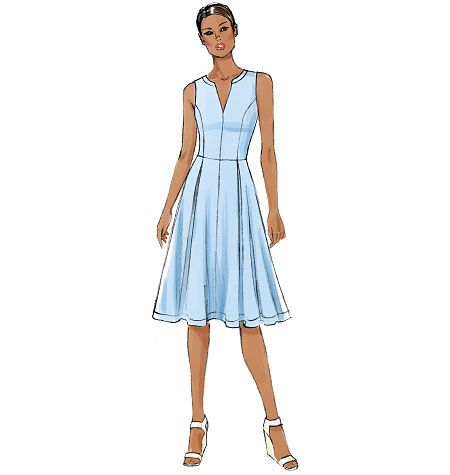 7e8cca61534 Vogue Patterns 8993 Misses  Misses  Petite Dress