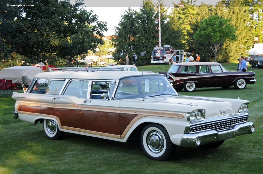 1959 Ford Stationwagon - What a rust bucket this was.... Only four ...