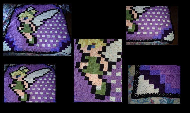 Tink Blanket | Granny Square Patterns | Pinterest