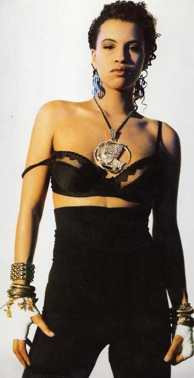 Neneh Cherry. I was a HUGE Neneh Cherry fan in 1991. Listened to 'Raw Like Sushi' every damn day.