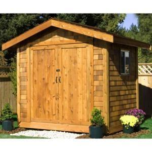 Best Star Lumber 12 Ft X 8 Ft Cedar Shingle Storage Shed 400 x 300