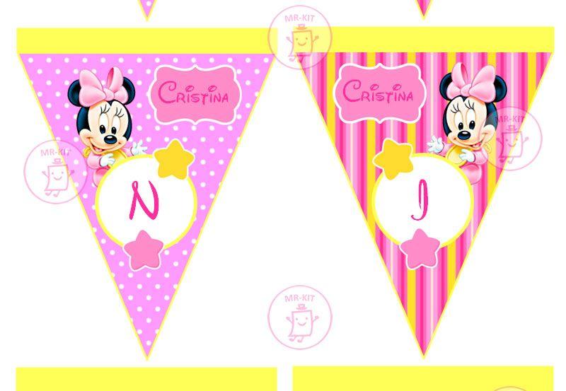 Kit Imprimible 1 Mickey Bebe Disney Candy Bar Tarjetas Y Mas - S/. 9 ...