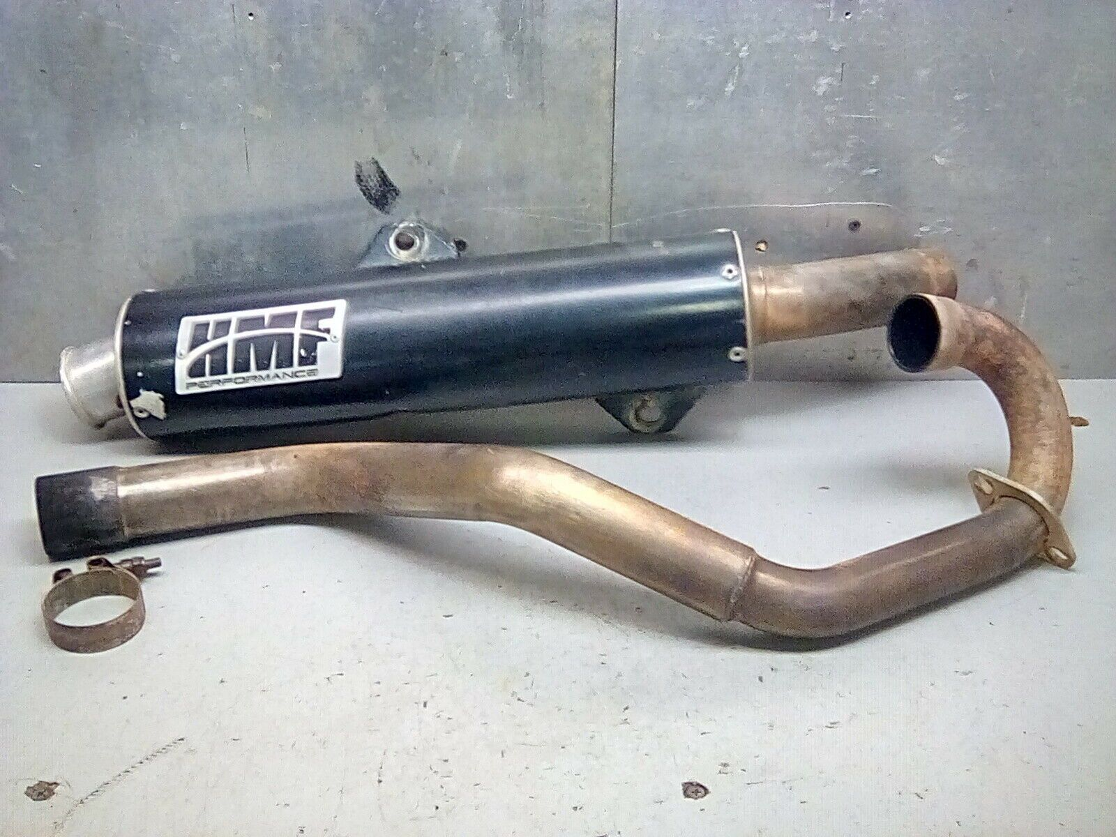 ltz 400 full exhaust exhausted full
