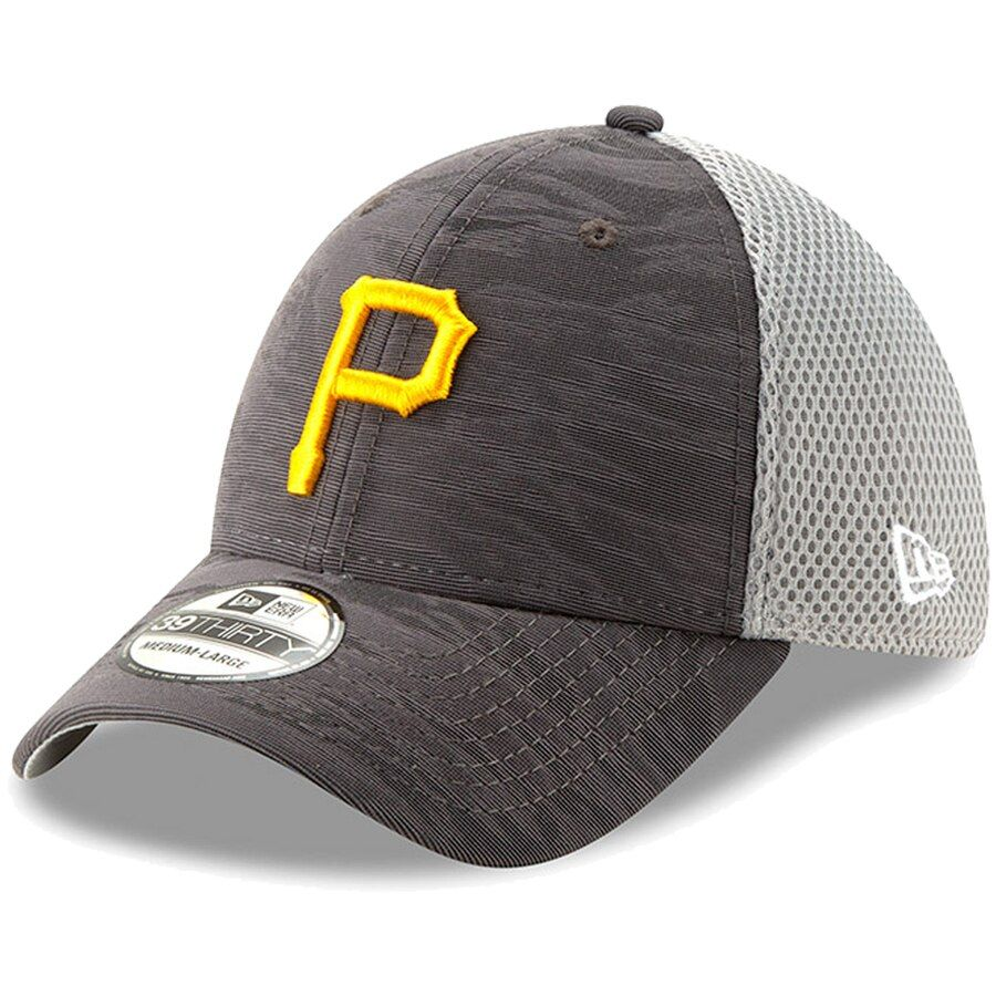 best shoes save up to 80% wholesale price Pittsburgh Pirates New Era Camo Front 39THIRTY Flex Hat - Charcoal ...