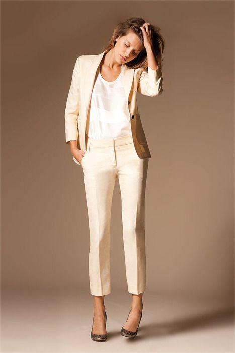 tailleur beige mariage - Recherche Google   LookBook   Spring work ... 206267566bc1