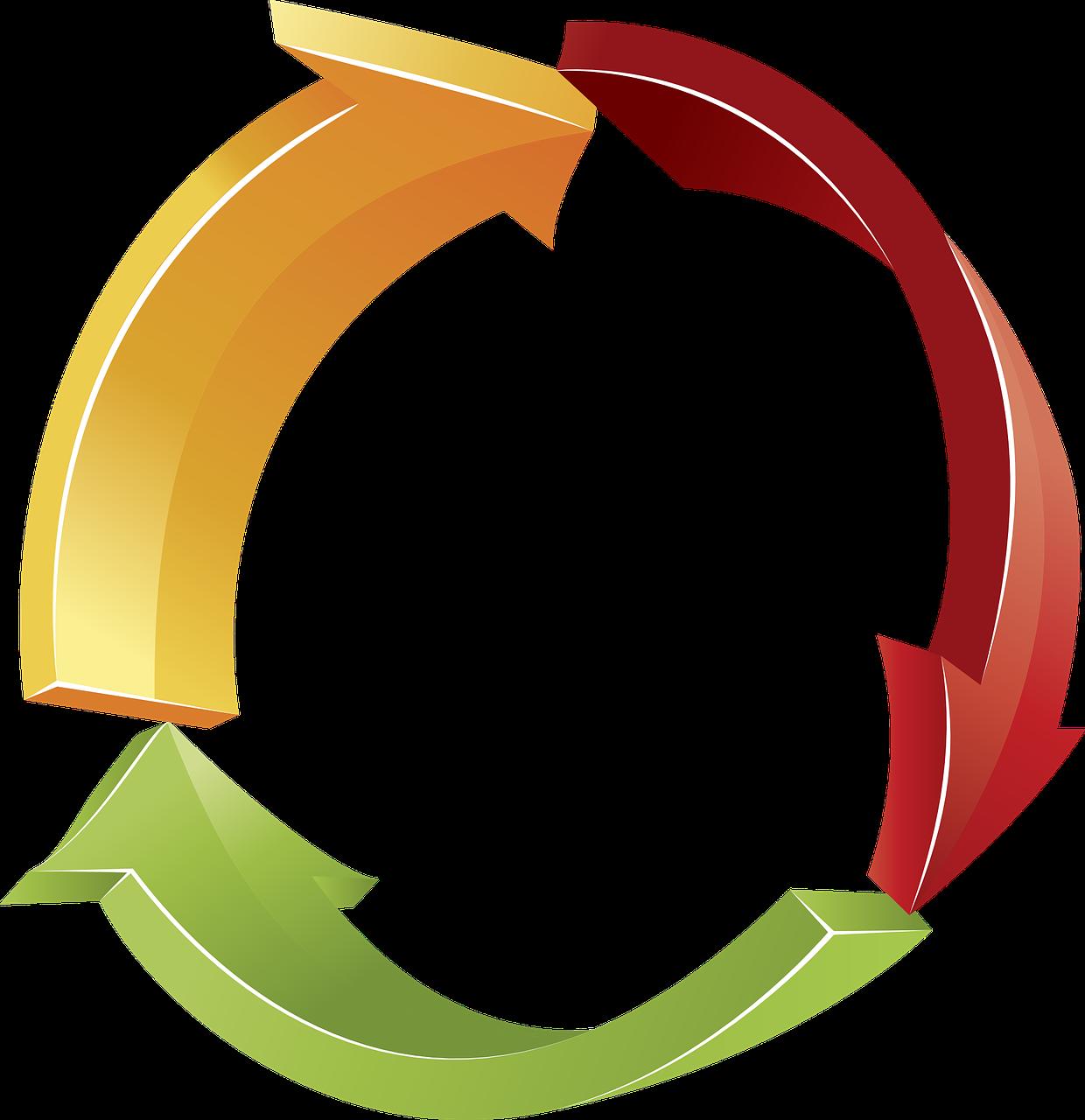 Feeder Matrix Team Build Rotator Circular Logo Symbols Cycle