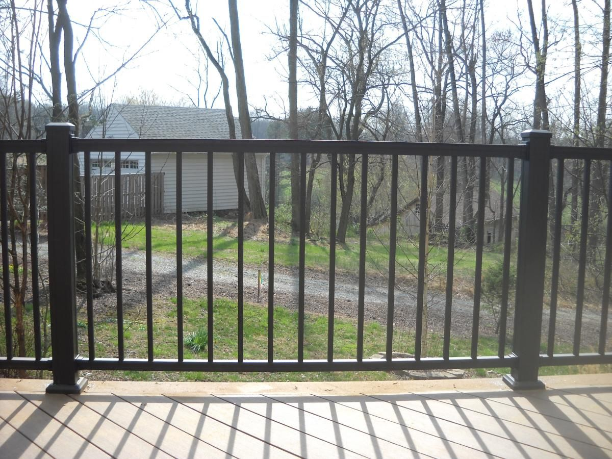 Best Deck Banisters With Iron American Railing Is The Modern 400 x 300