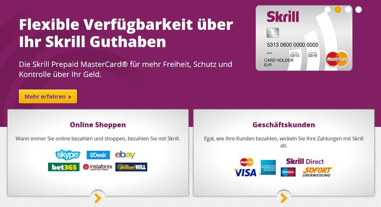 Skrill Payment Button