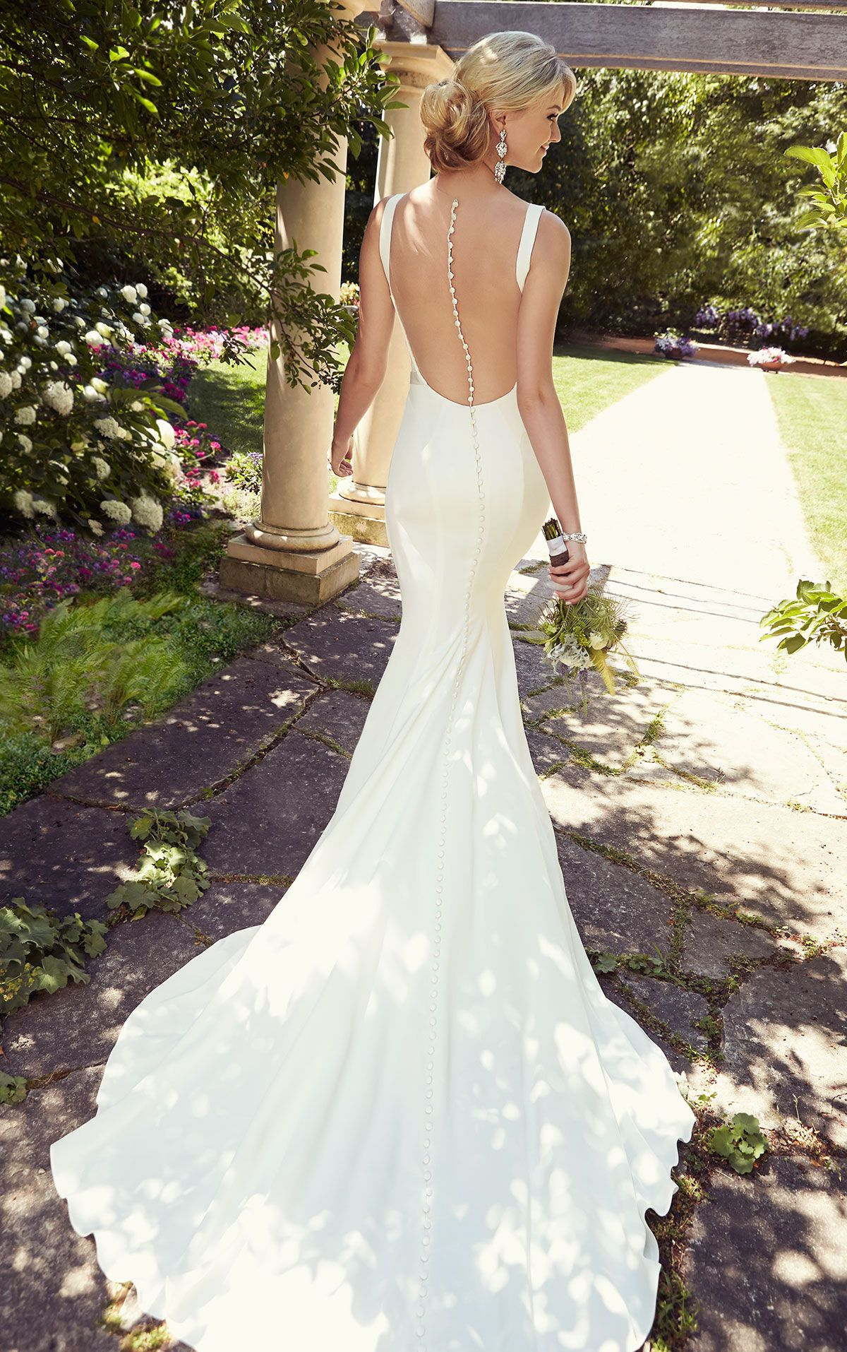 25 backless wedding dresses ideas magic illusions wedding dress 25 backless wedding dresses ideas ombrellifo Image collections