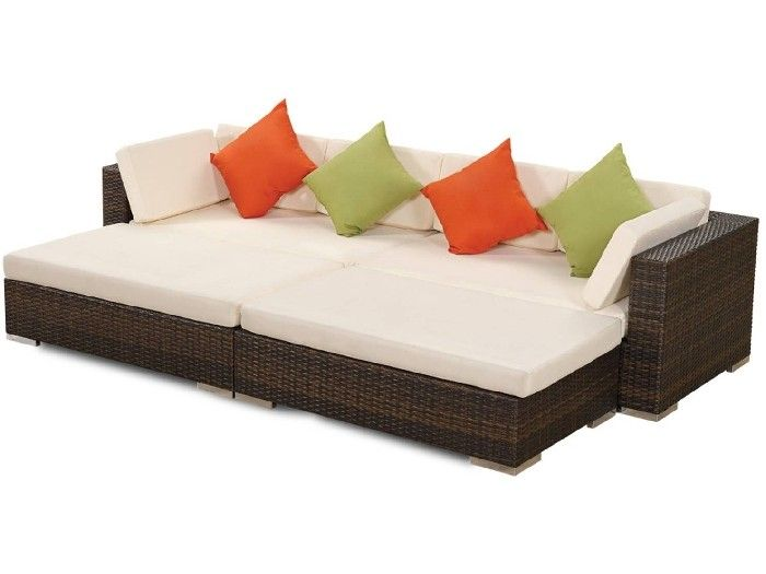 Outdoor Wicker Daybed Ottoman And Day Bed Furniture Sydney