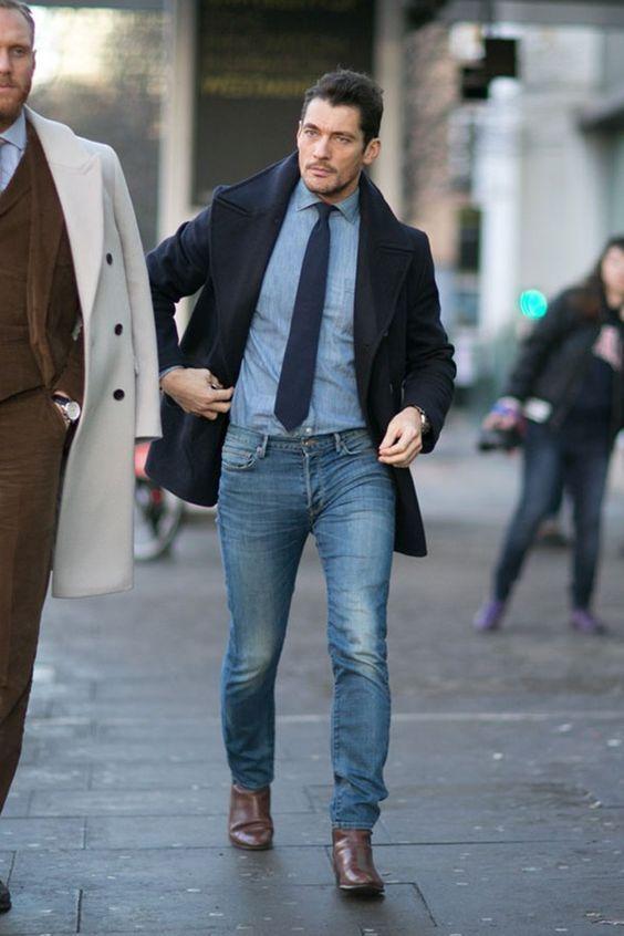 David Gandy , Fashion Week London