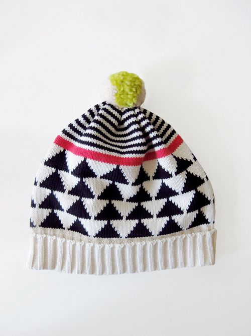 Retro looking hats by Annie Larson   baby knit patterns   Pinterest