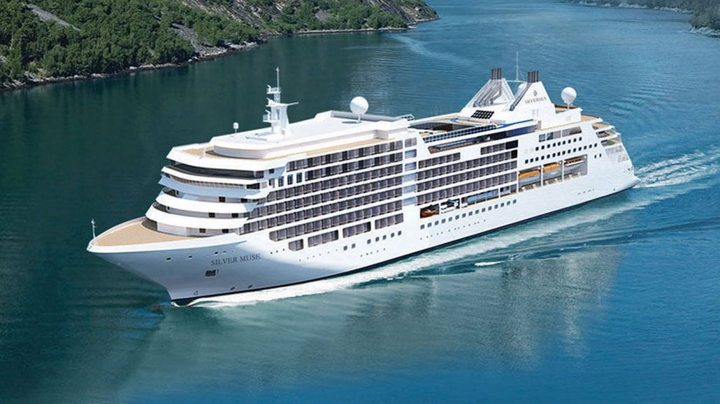 Silver Muse Rendering ~ Silversea Cruises Announces Luxurious New Silver Muse | Popular Cruising (Image Copyright © Silversea Cruises)