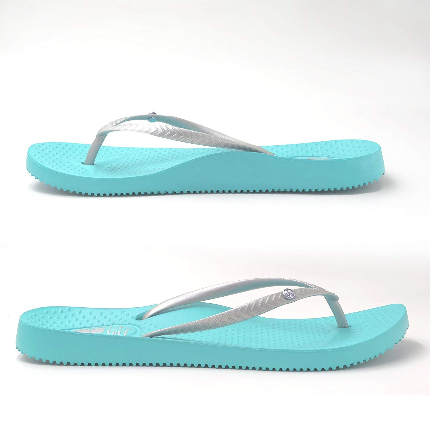 92edbb83d062aa FootActive Tiki Girl Orthotic Flip-Flops-with Biomechanical Arch to Support  Feet