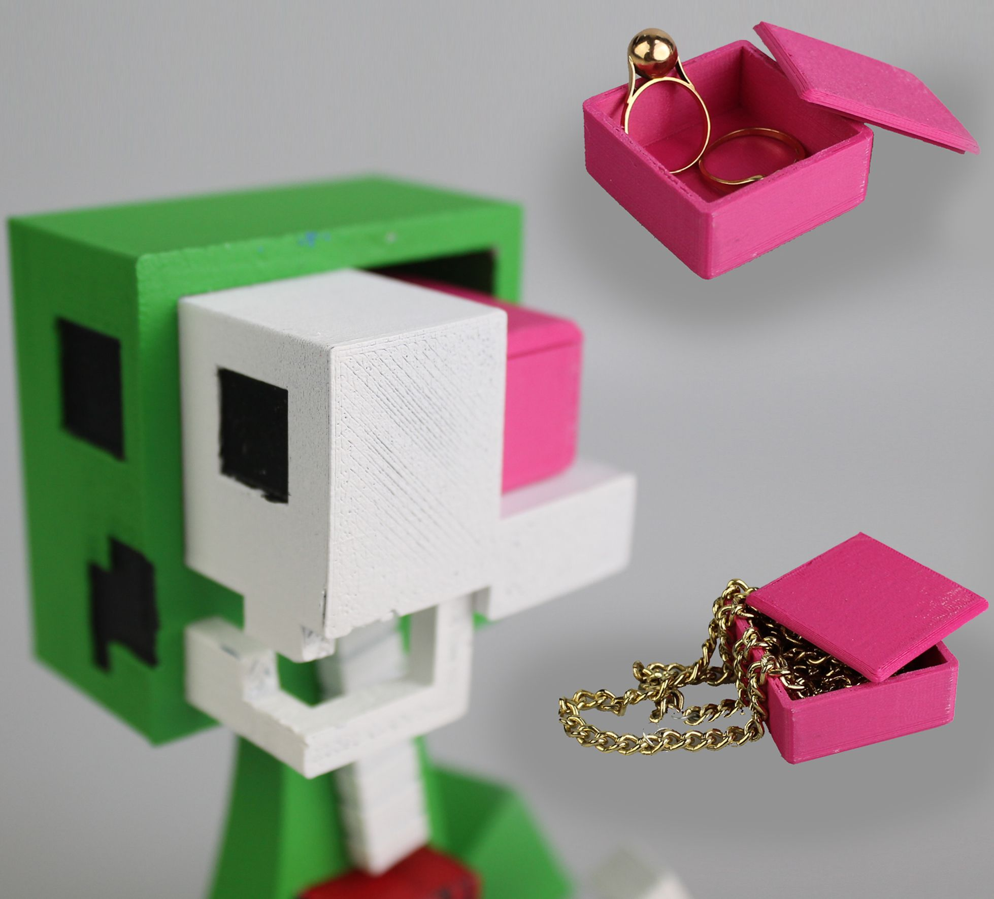 Download brain box for the minecraft creeper anatomy by Kirby Downey ...