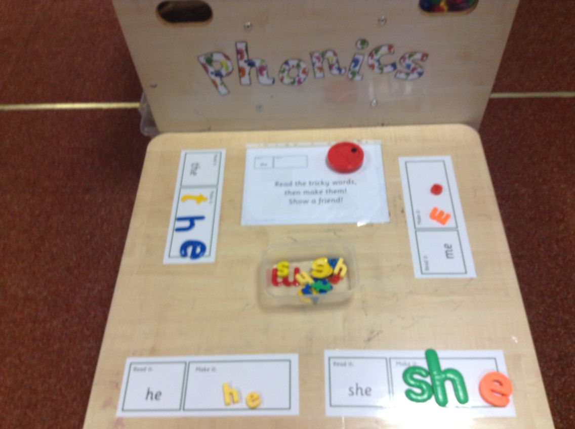 Tricky Word Challenge Eyfs Reception Phonics Talking Tin