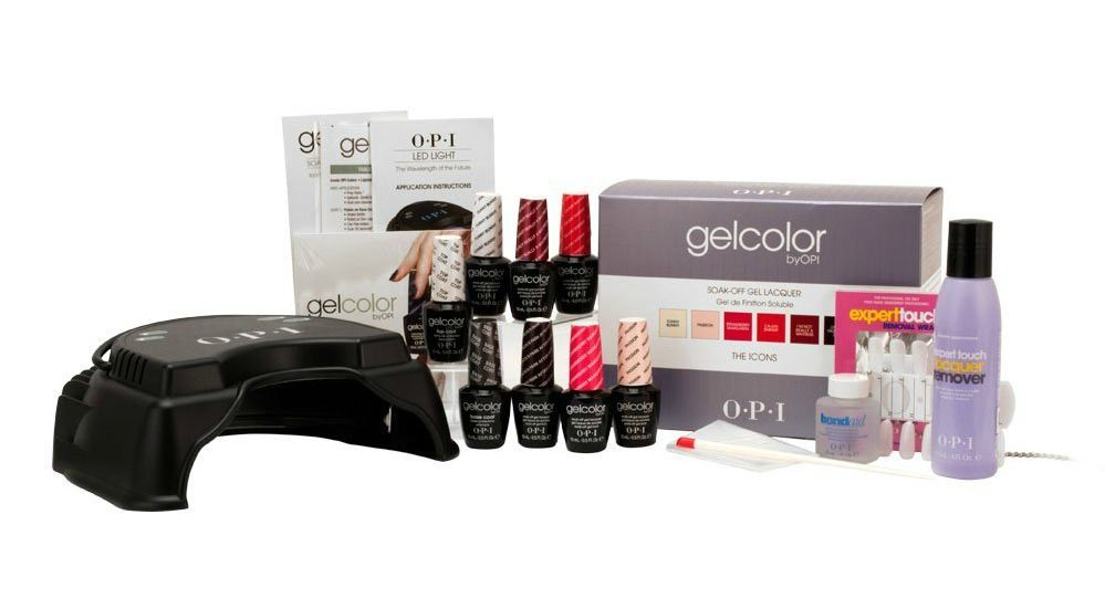 9 Of The Best Gel Polish Kits For Every User Opi Gelcolor Professional Icon Intro Kit Gel Nail Kit Opi Gel Nail Kit Opi Gel Nails