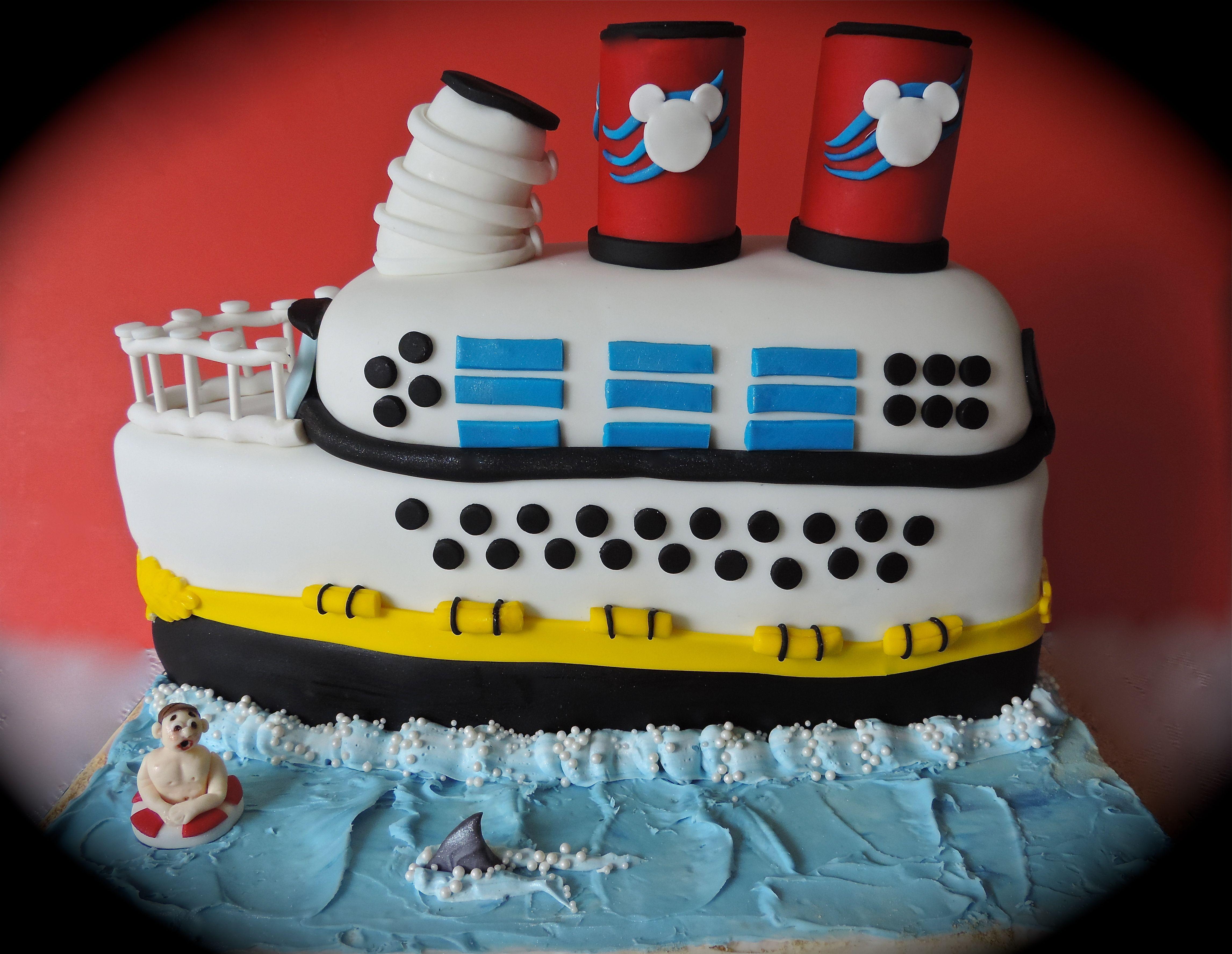Disney Cruise Ship Cake My Cakes Confections Pinterest Cake