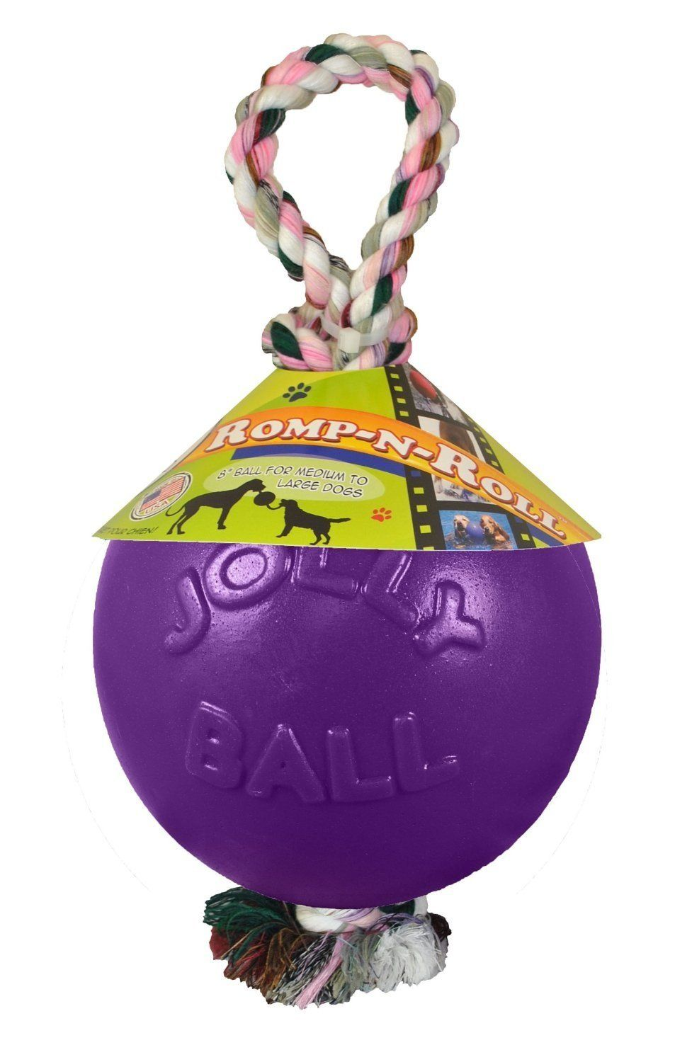 Romp And Roll Ball Color Purple *** Want to know more