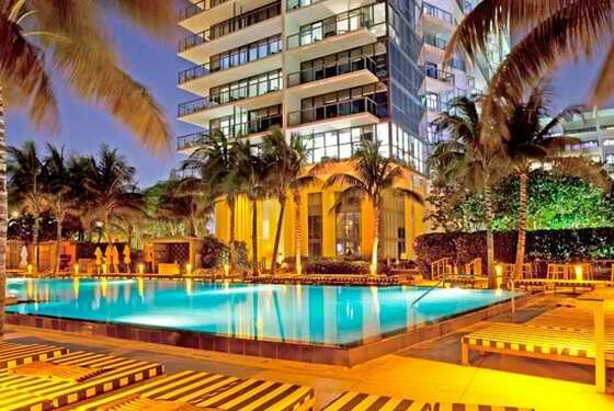 Glamorous And Contemporary Interiors At W South Beach Miami Hotel Adelto