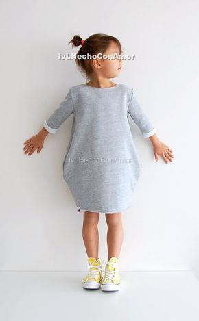 Oversized Sweater pattern, dress sewing pattern, long sweatshirt dress, girls sweatshirt dress, girls long dress, oversized sweatshirt dress