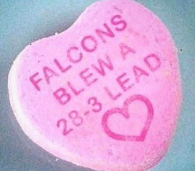 Happy Valentine S Day Falcons Nflmemes Nfl Lol Sportshumor Patriots Team New England Patriots Football Patriots Fans