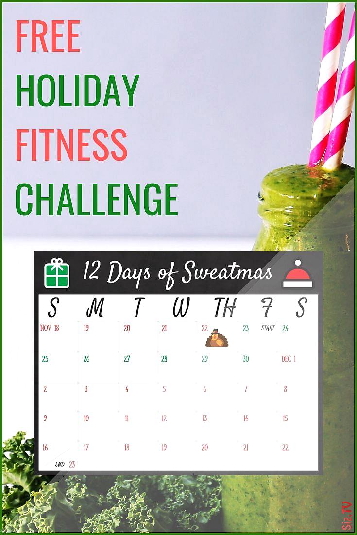 Free Holiday Fitness Challenge  Maintenance Month  Ironwild Fitness Free Holiday Fitness Challenge...