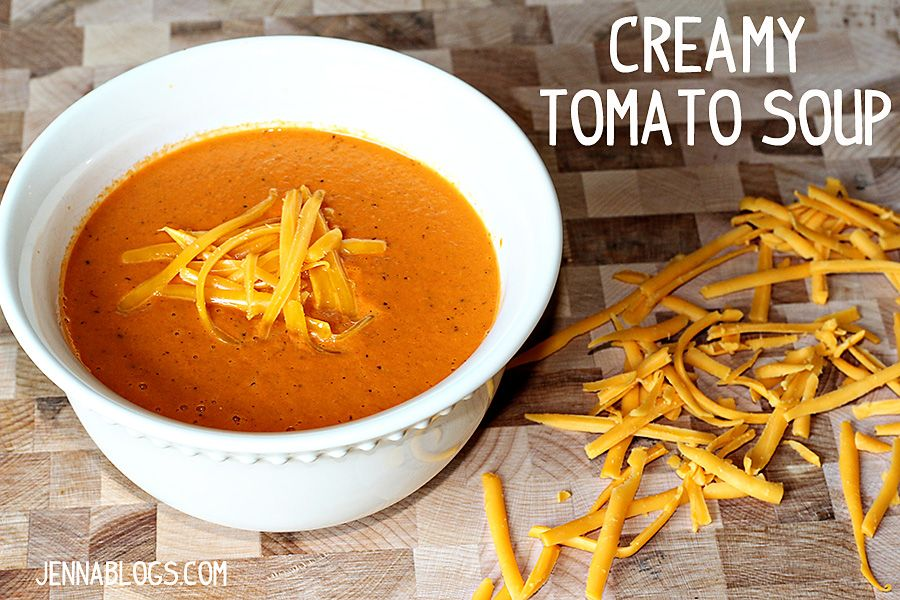 Creamy (and a little spicy) tomato soup  #soup #tomato