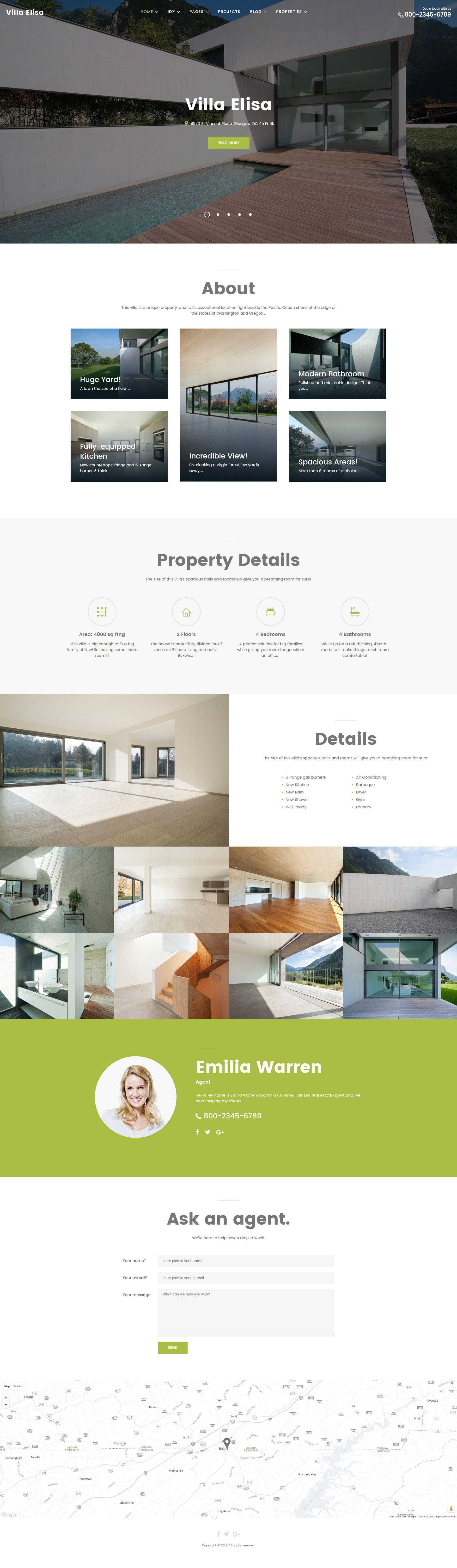 villa elisa real estate responsive wordpress theme. Black Bedroom Furniture Sets. Home Design Ideas