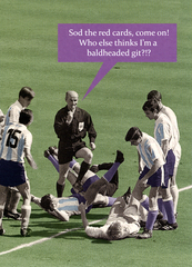 funny football card sod the red cards quitting hollywood